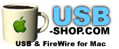 USB-Shop.com - Macintosh Compatible USB Cables and Accessories